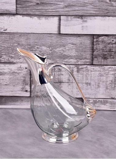 Bayev Gümüş Cam Ördek Sürahi Renkli